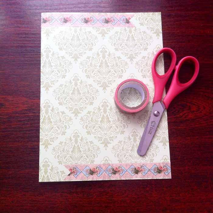 Простая скрап-открытка своими руками - фото 3
