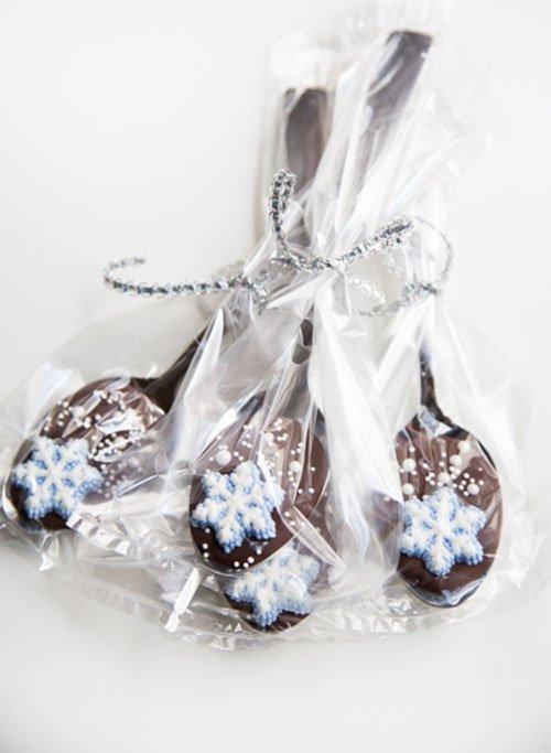 Шоколадные ложки, мастер-класс, фото 11