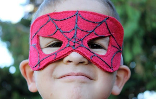 Як зробити маску Людини-павука, фото 6