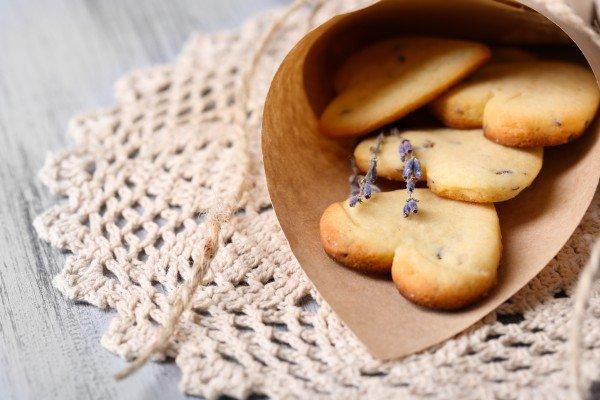 Ароматное печенье на день Святого Валентина