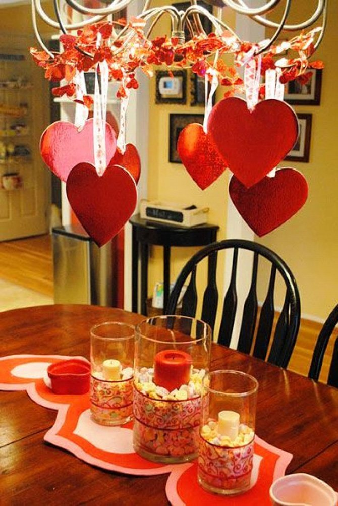 Оформлення на День закоханих