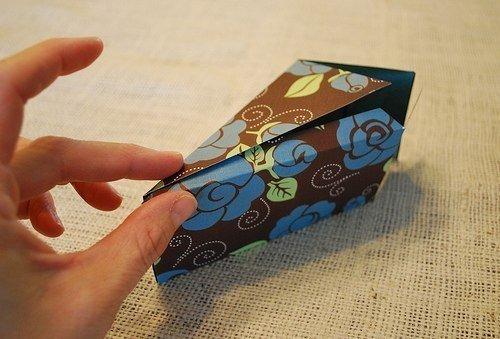 Красивая подарочная коробка своими руками — схемы бонбоньерок, фото 14