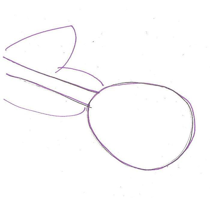 Як намалювати троянду крок за кроком – схема, фото 1
