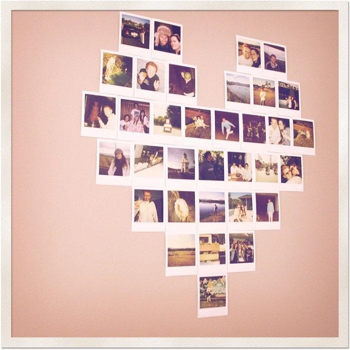 Серце з фотографій