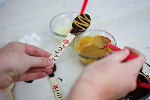Шоколадні ложки, майстер-класс, фото 6