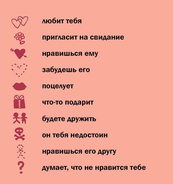 Романтическая гадалка для девчонок