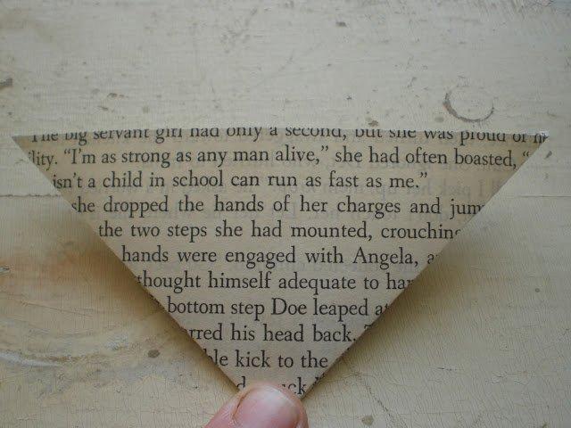 Орігамі метелик крок 9