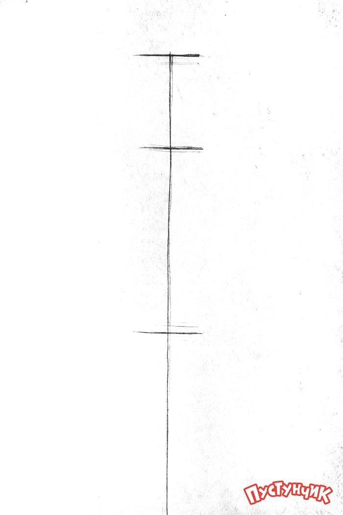Как нарисовать пони Рарити, фото 1