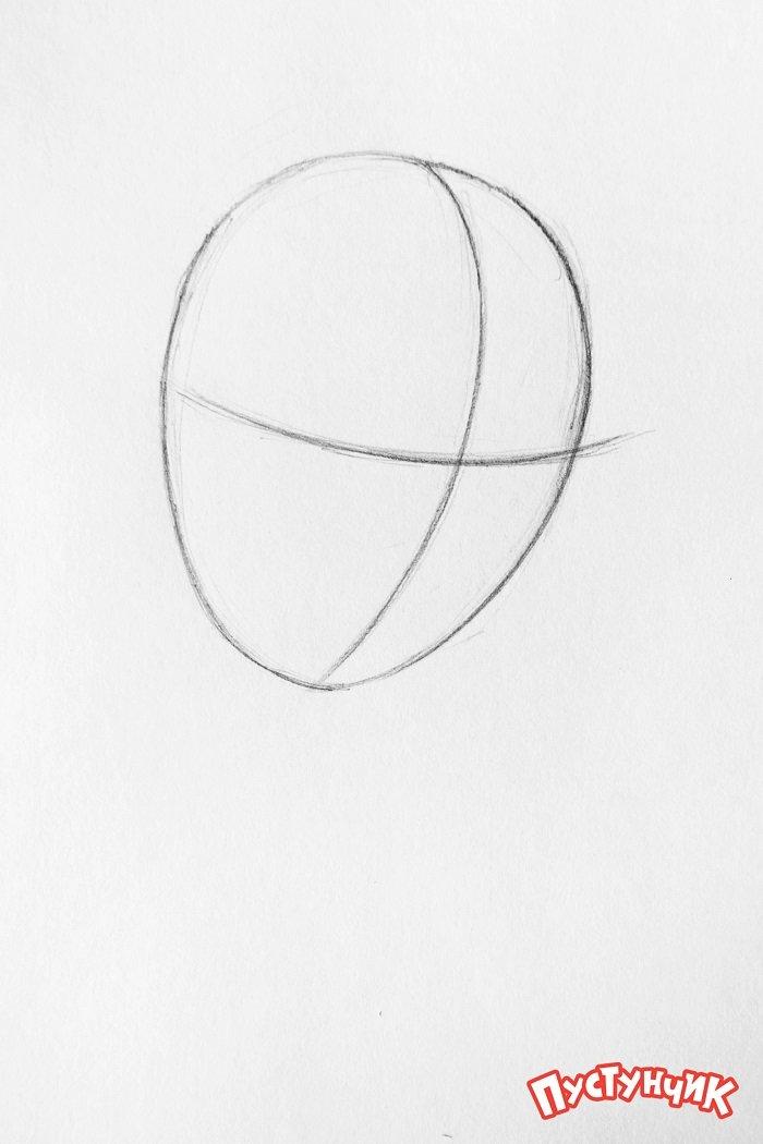 Как нарисовать фею Динь-Динь поэтапно - фото 1