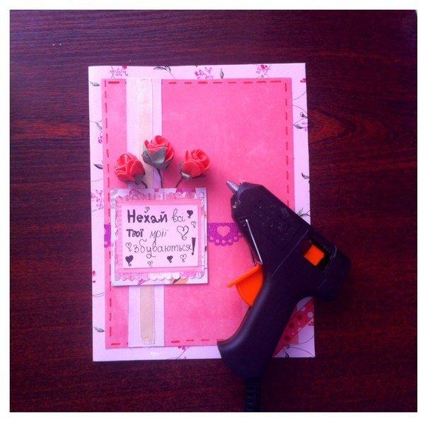 Скрапбукинг открытка своими руками. Инструкция - фото 9