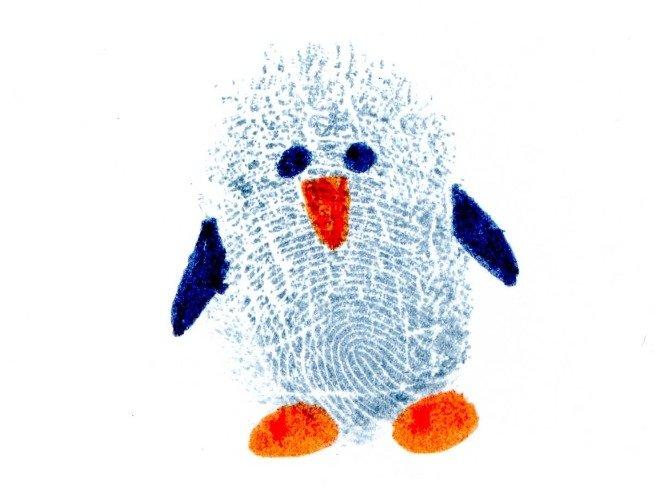 Малювання пальцями картинки - ескіз 1