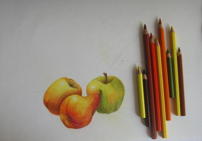 Як намалювати натюрморт олівцем, фото 7