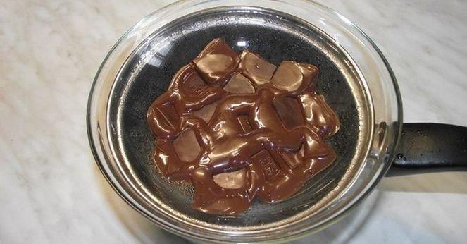 Шоколадно-творожный десерт. Рецепт, фото 1