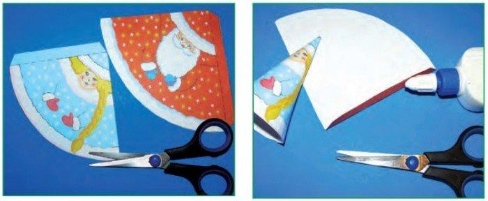 Делаем новогодние поделки из бумаги, фото 5