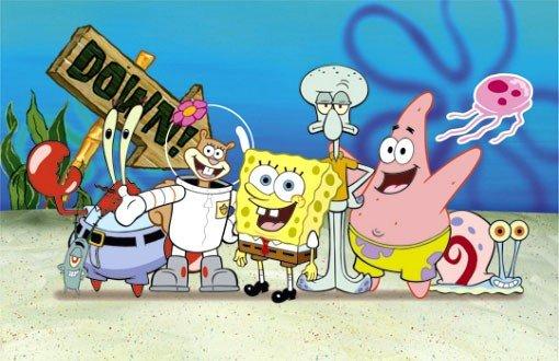 Губка боб квадратные штаны и его друзья игры люди икс мультфильмы