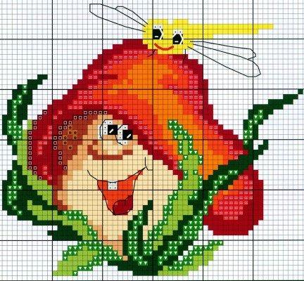 Рисунки цветные для вышивки крестом 36