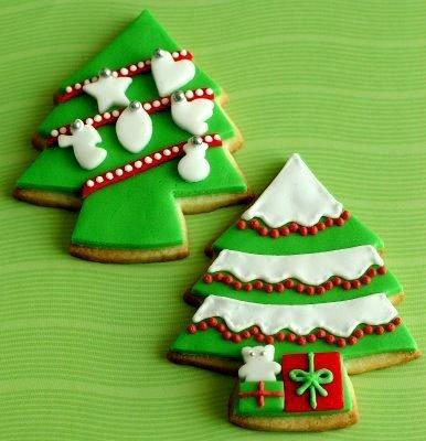 Вкусное новогоднее печенье с глазурью своими руками, фото 15