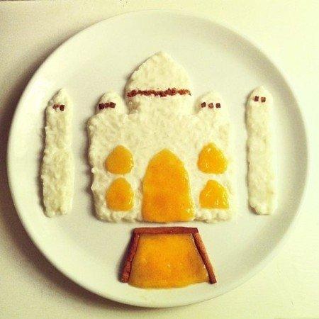 Креативные и полезные завтраки для детей - фото 5