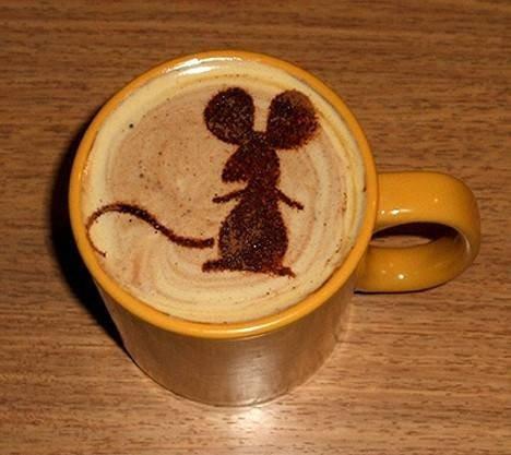 Латте-арт (рисунки на кофе) — фото 15