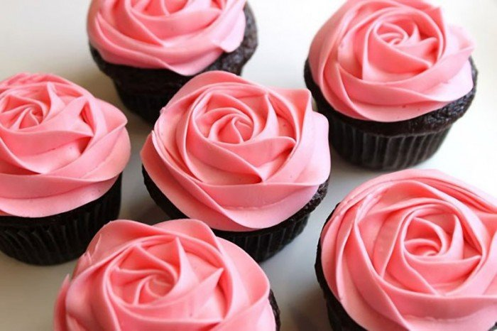 Капкейки-троянди