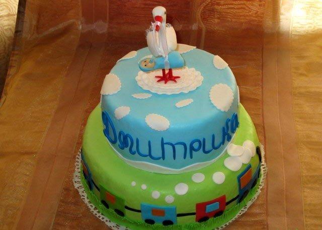 Украшение тортов детских