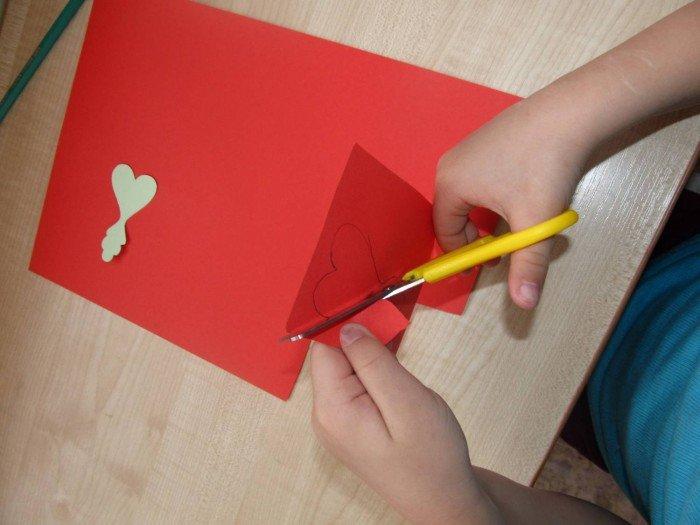 Великодня листівка своїми руками, крок 3