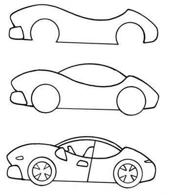 Как нарисовать транспорт