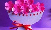 Листівка-квіти для того мами