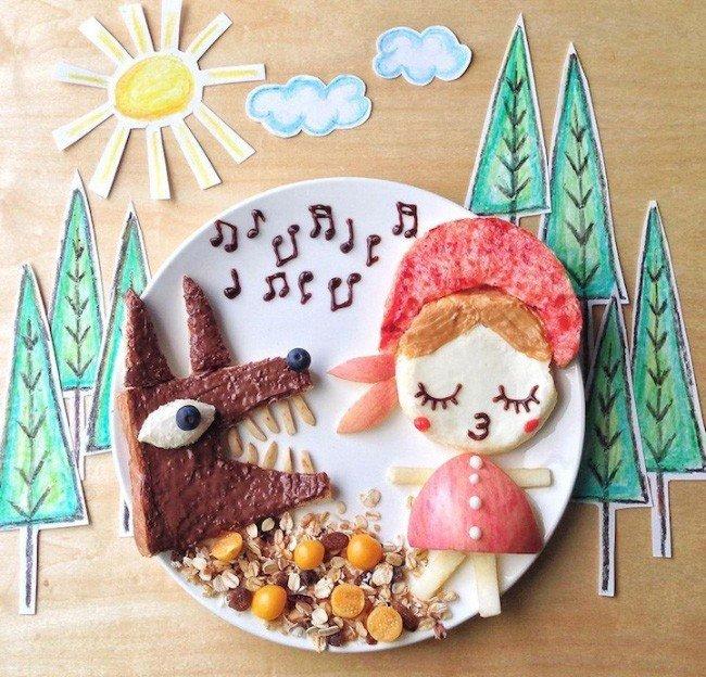 Картины из еды от Саманты Ли – фото 3