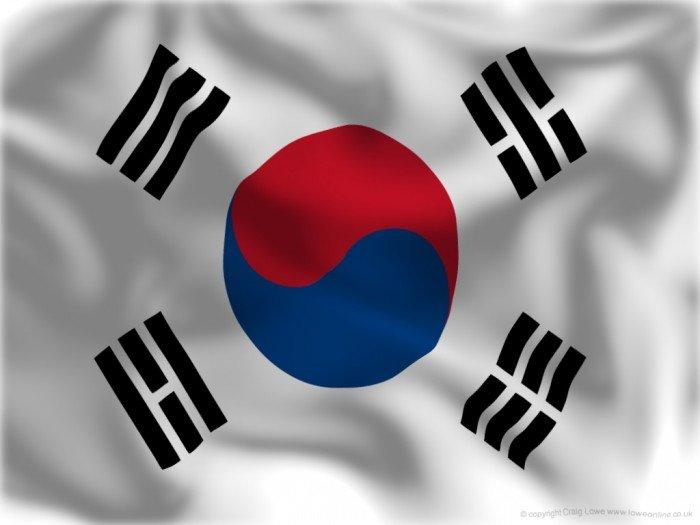 Национальный флаг Южной Кореи