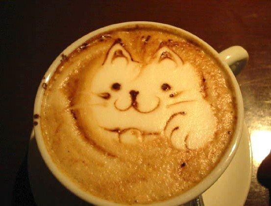 Латте-арт (рисунки на кофе) — фото 17