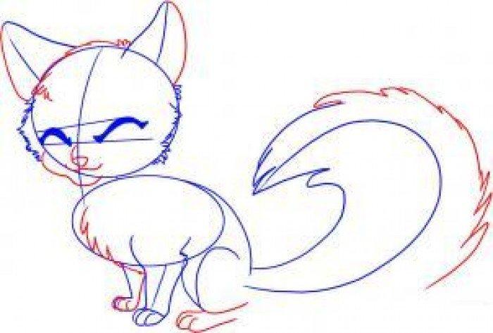 Як намалювати лисицю поетапно, фото 3