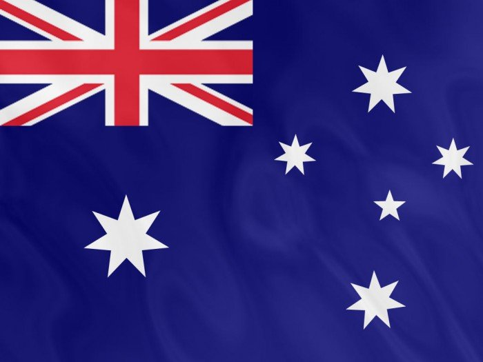 Национальный флаг Австралии