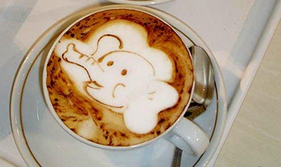 Латте-арт (рисунки на кофе) — фото 9