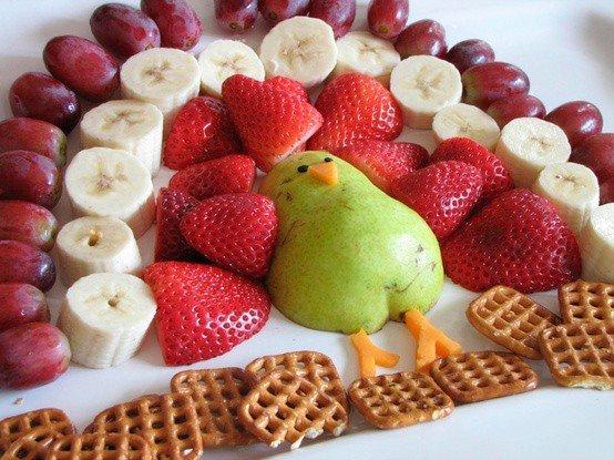 Как красиво подать фрукты к столу. Оформление фруктовой нарезки - фото 9