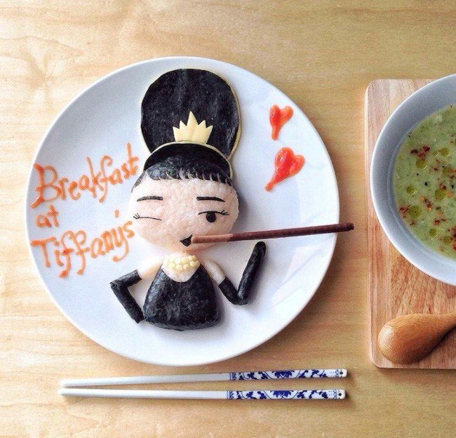 Картины из еды от Саманты Ли – фото 12