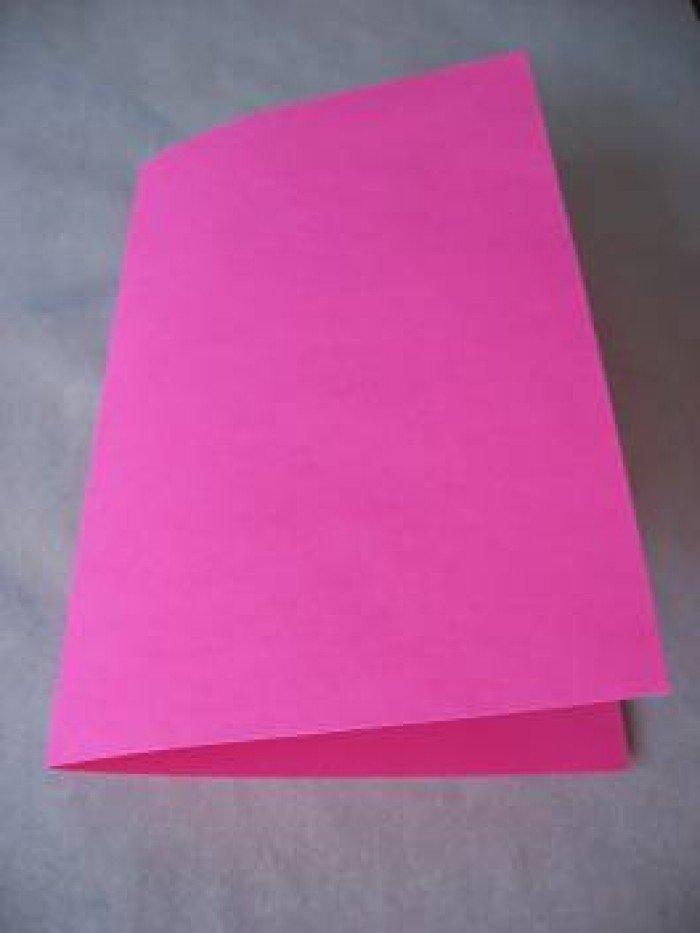 Картинки про, как согнуть бумагу для открыток