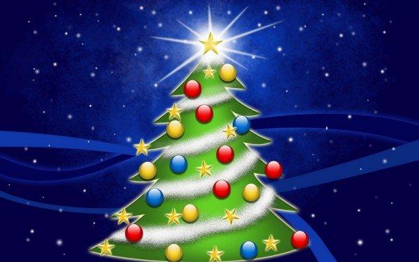 Рисуем новогоднюю елку