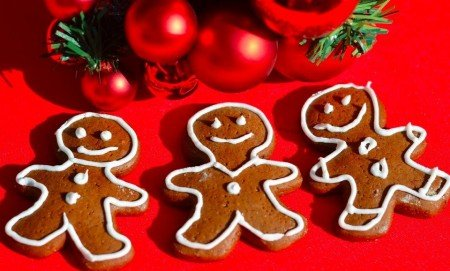 Рождественский рецепт пряничных человечков