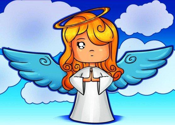 Как живописать ангела