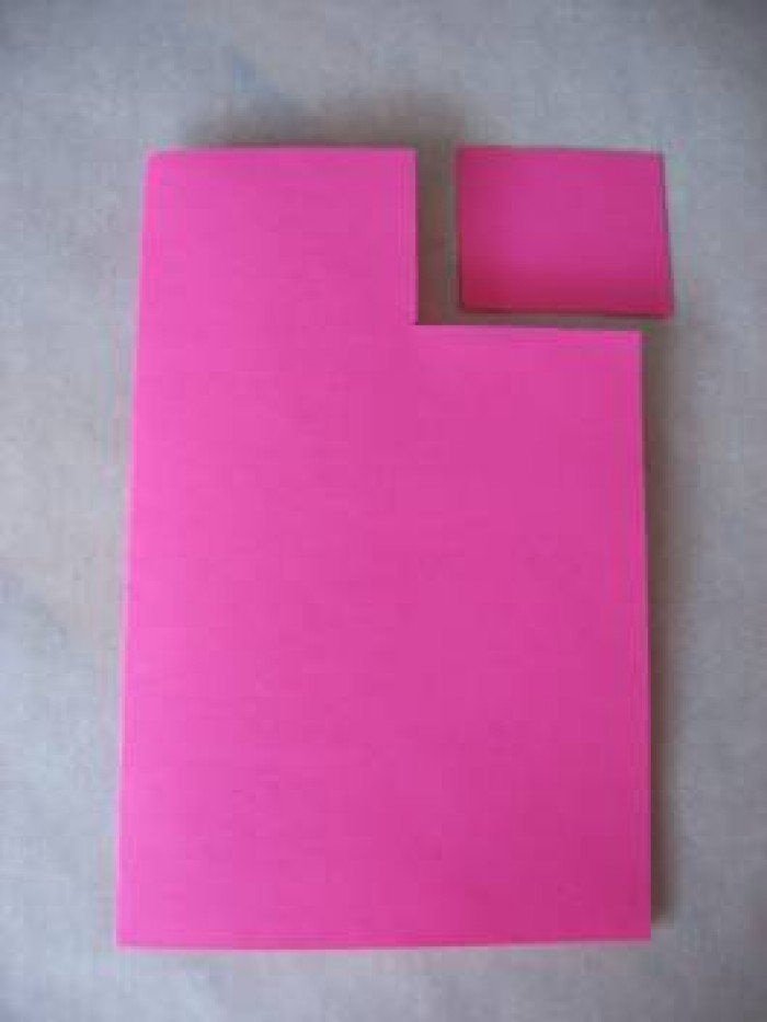 Листівка на День Святого Валентина з паперу, фото 1