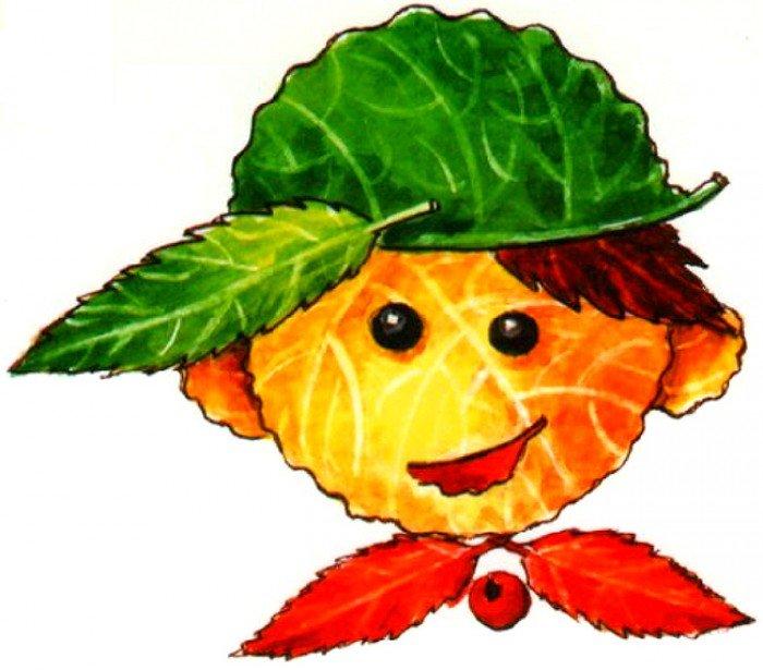 Картинки про осенние листья для детей