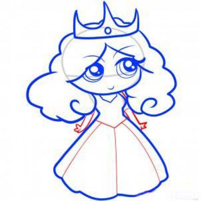 Как нарисовать принцессу, фото 8