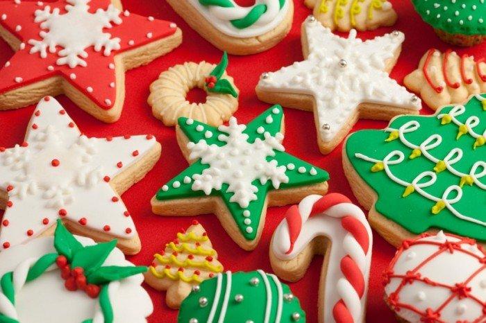 Вкусное новогоднее печенье с глазурью своими руками, фото 11