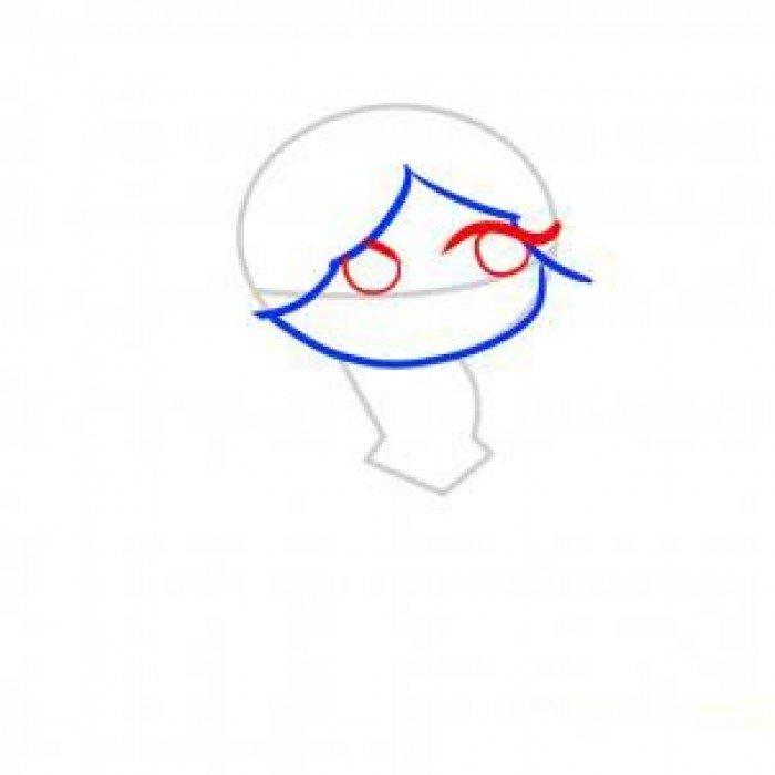 Как нарисовать принцессу, фото 3