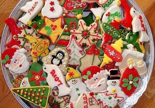 Вкусное новогоднее печенье с глазурью своими руками, фото 14