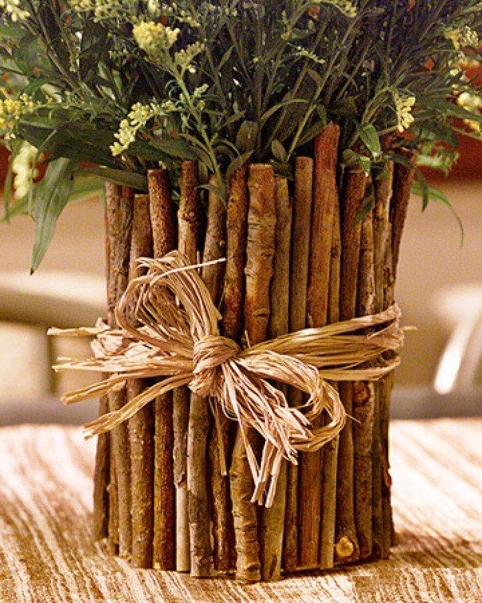 Декор из деревьев своими руками