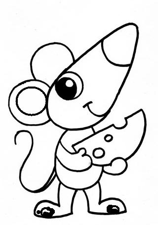 Как нарисовать мышку поэтапно, фото 16