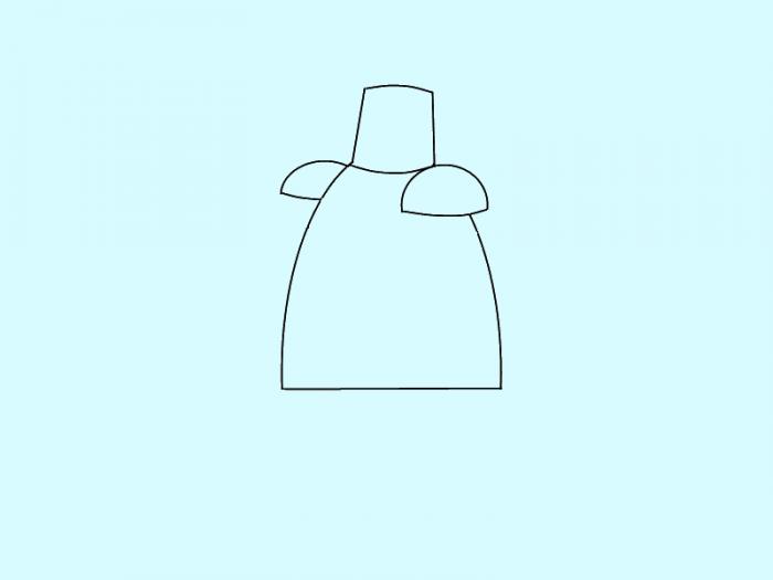 Как нарисовать рыцаря поэтапно, фото 3