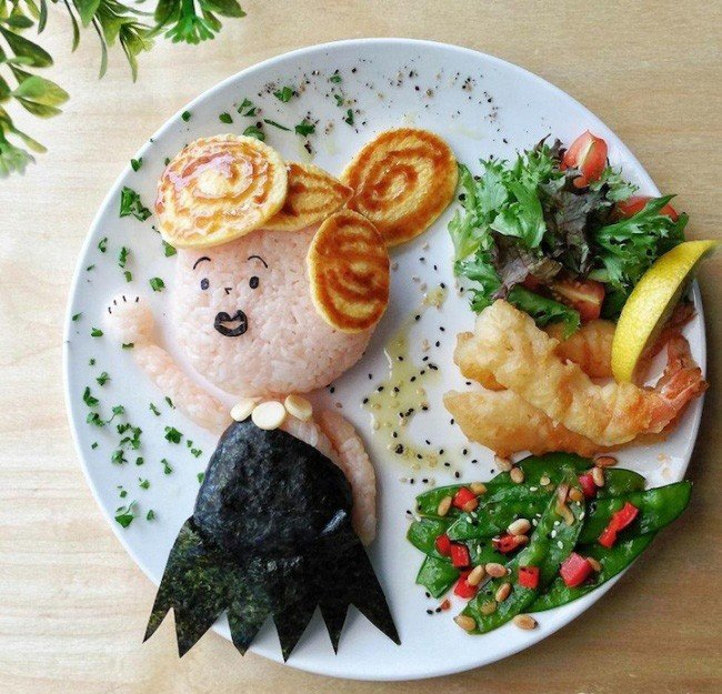 Картины из еды от Саманты Ли – фото 5